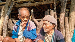 Tanung Siram and Ponung Tamuk remember the old days.