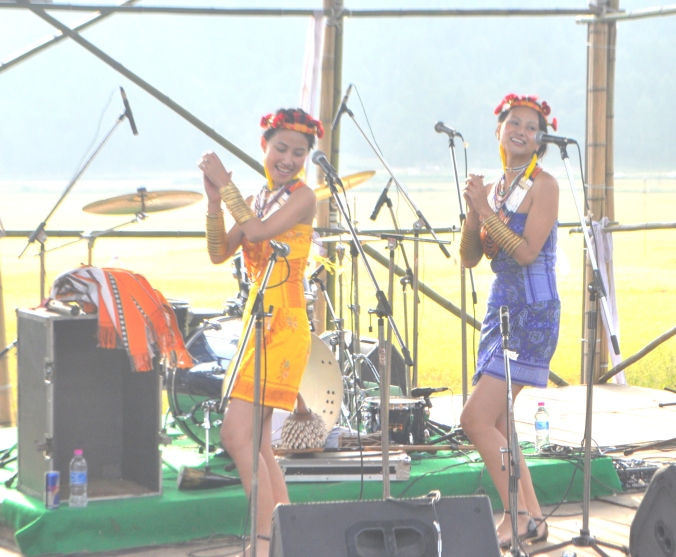 Kuku and Mercy from Nagaland's Tetseo Sisters believe more in spreading joy with their music. And they look good doing it