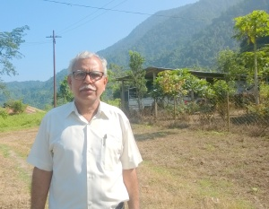 Current principal RP Dubey came to Arunachal Pradesh from Uttar Pradesh in north India more than two decades ago.
